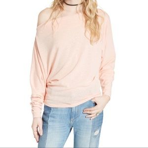 NWT Free People Valencia Off the Shoulder Pullover